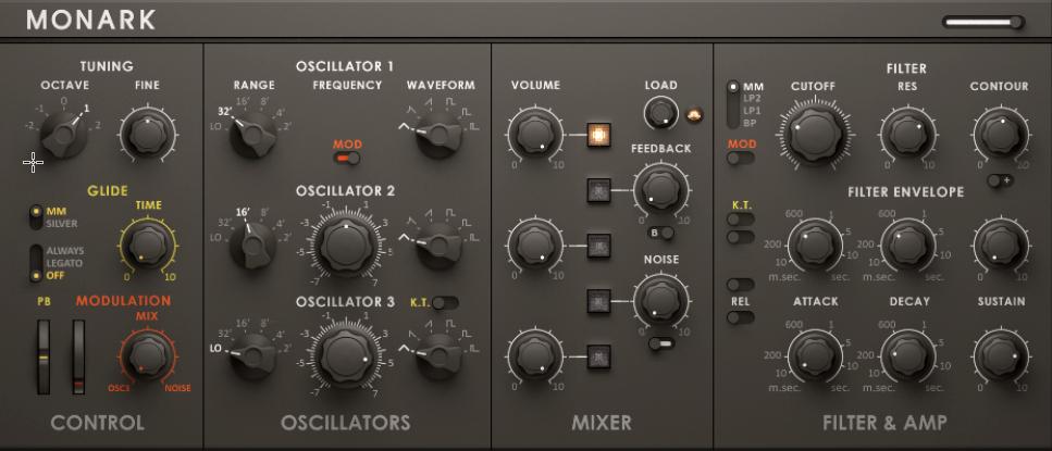 Monark 80s Synthesizer